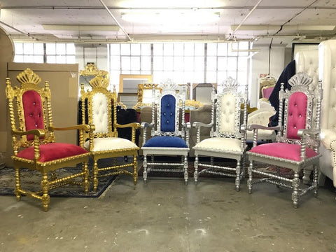 CROWN THRONE CHAIRS