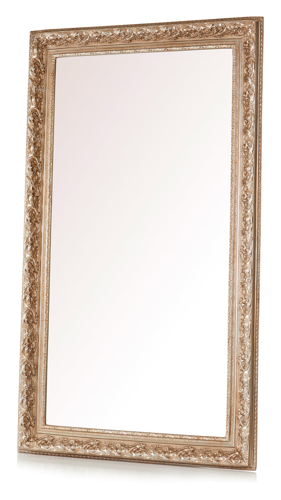 """Giselle'' Royal Mirror - Silver Finish"