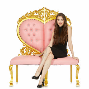 """Sweetheart"" Party Chair - Pink / Gold"