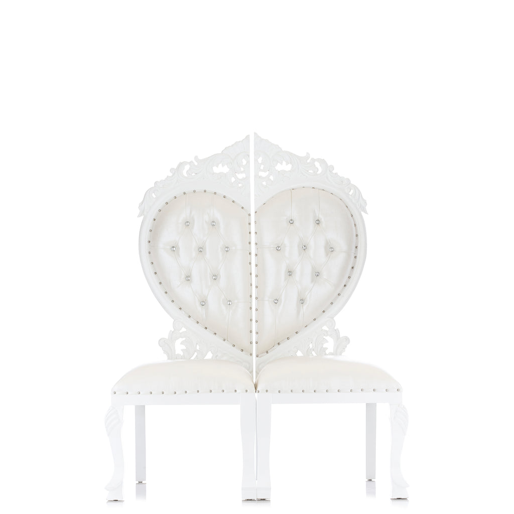 """Sweetheart"" Party Chair - White / White"