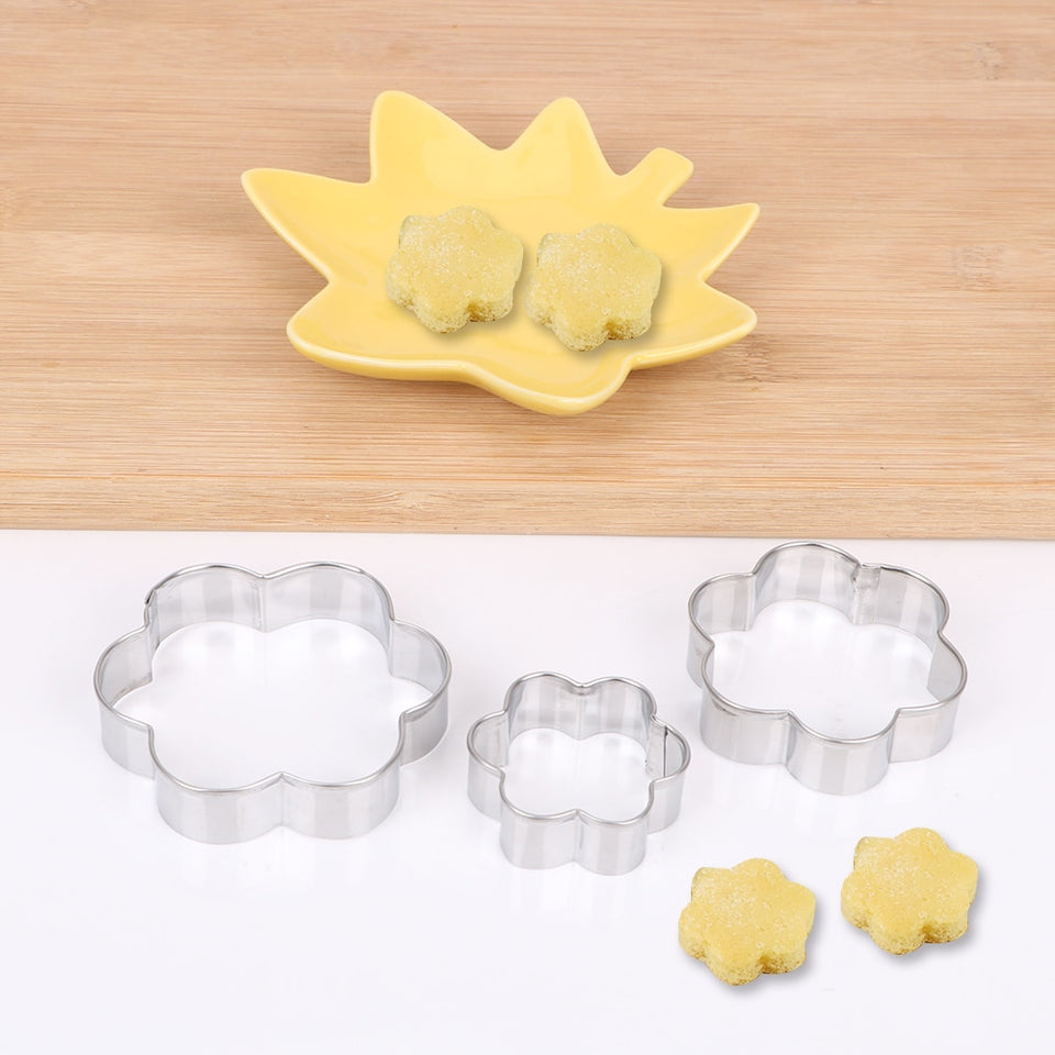 Triple Baking Mold Set