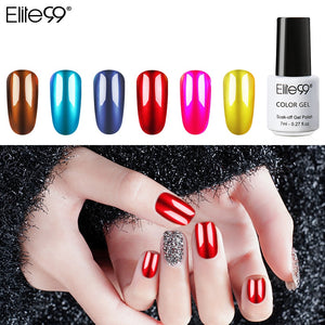 Mirror Metal Gel Polish