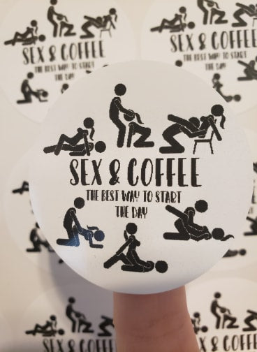 Sex & Coffee - T2 Blanks 4 You