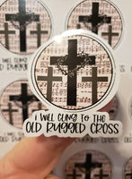 Old Rugged Cross - T2 Blanks 4 You