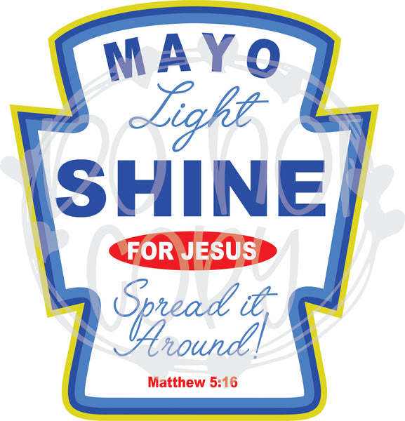 Mayo Light Shine - T2 Blanks 4 You