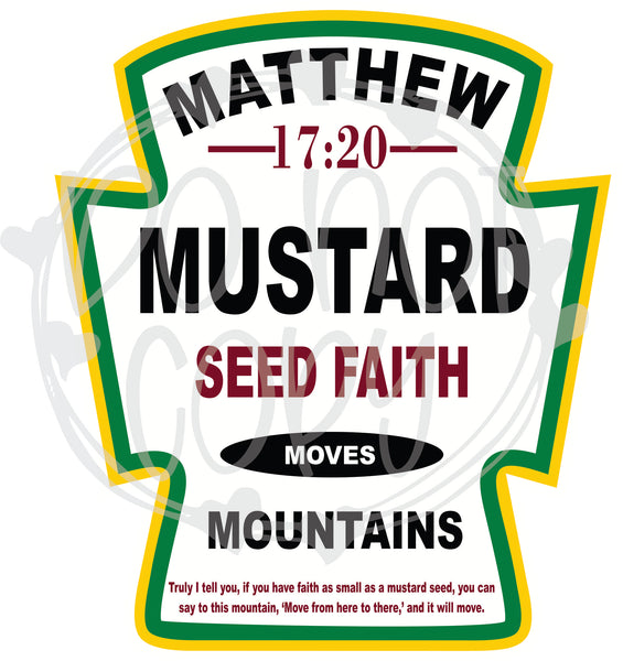 Mustard Seed Faith - T2 Blanks 4 You