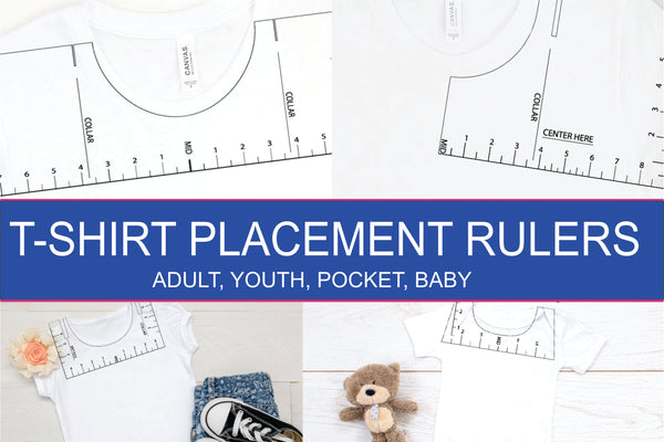 Shirt Placement Rulers