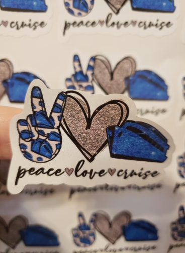 Peace Love Cruise - T2 Blanks 4 You