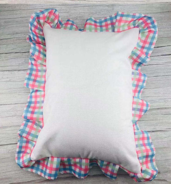 Pastel Plaid Pillowcover