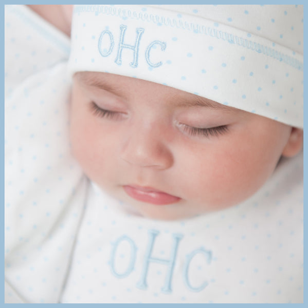 Magnolia Baby Personalized Layette - Monogrammed Baby Clothes