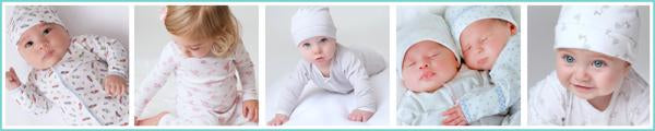 6b06af65f Magnolia Baby Layette - Pima Cotton Baby Clothes and Pajamas