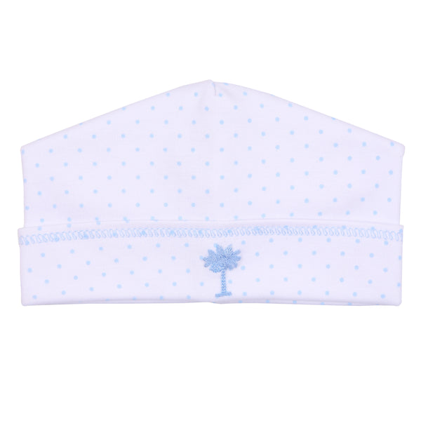 Essentials Blue Palmetto Baby Embroidered Hat