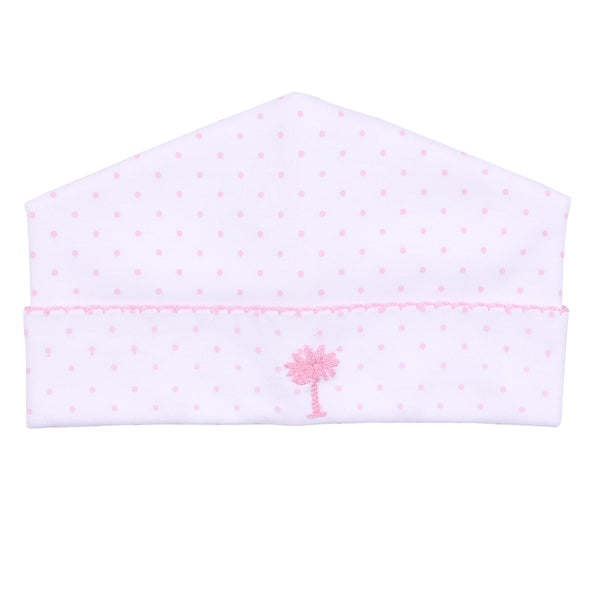 Essentials Pink Palmetto Baby Embroidered Hat