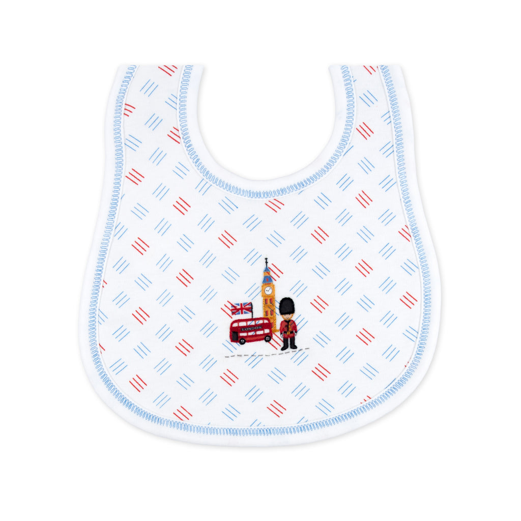 Essentials London Calling Embroidered Bib