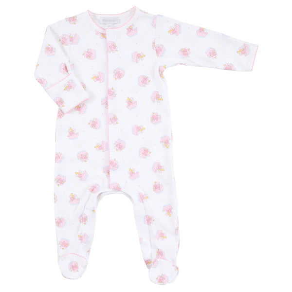 Essentials Pink Noah's Friends Printed Footie