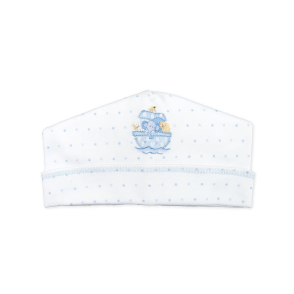 Essentials Blue Noah's Friends Embroidered Hat