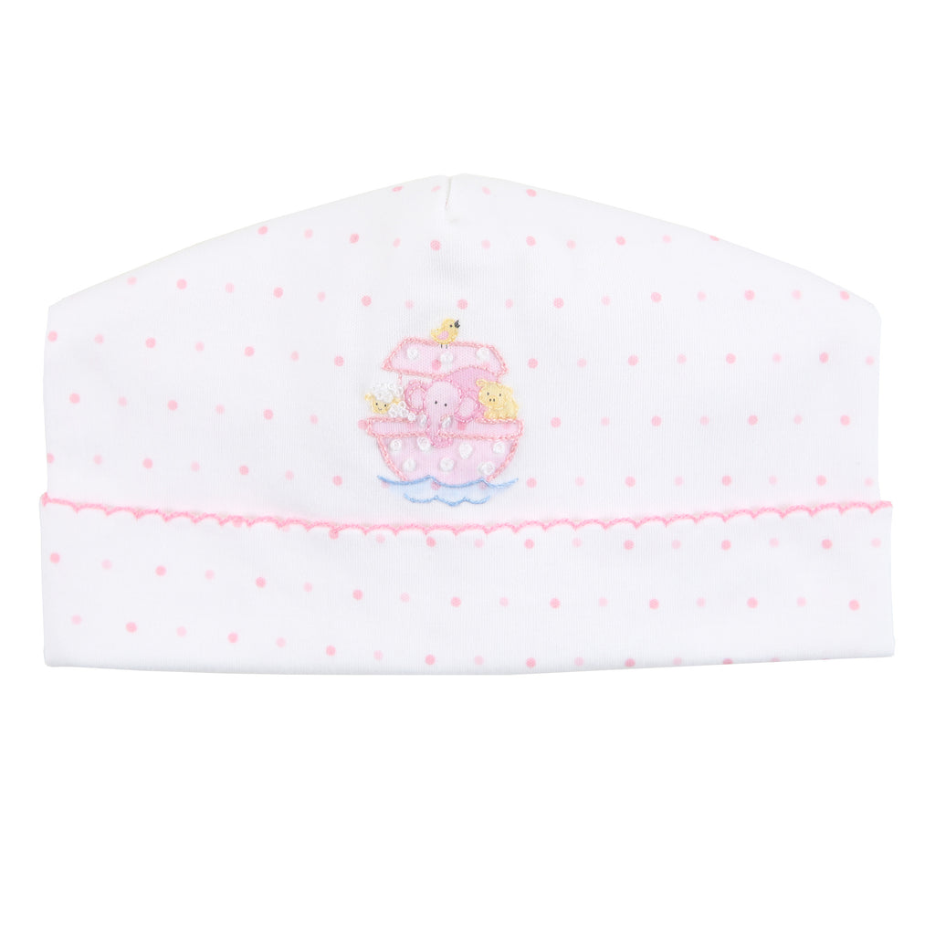 Essentials Pink Noah's Friends Embroidered Hat