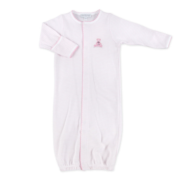 Essentials Pink Baby's Teddy Embroidered Converter