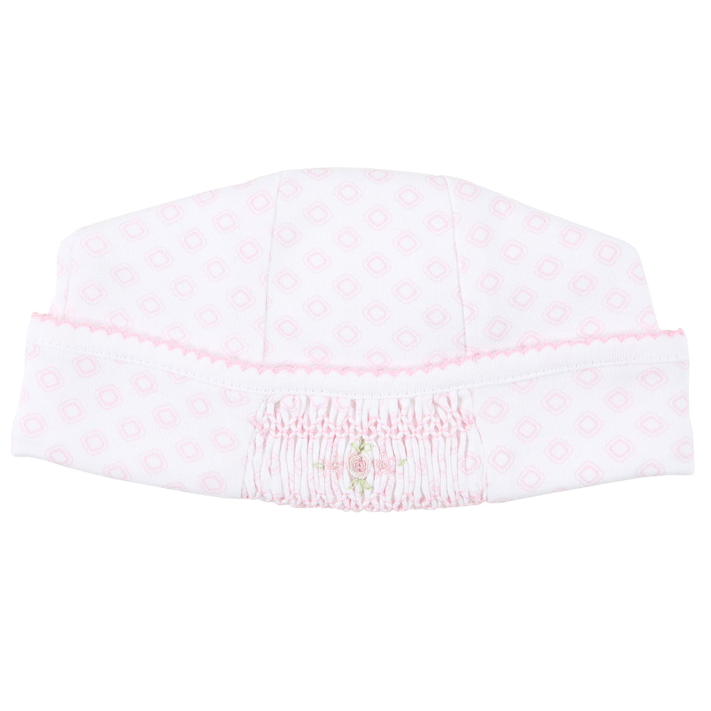 Essentials Hope's Rose Smocked Hat