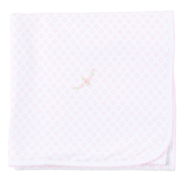Essentials Hope's Rose Embroidered Blanket