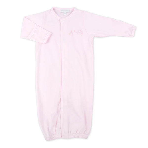 Essentials Pink Worth the Wait Embroidered Converter
