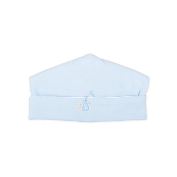 Essentials Blue Worth the Wait Embroidered Hat