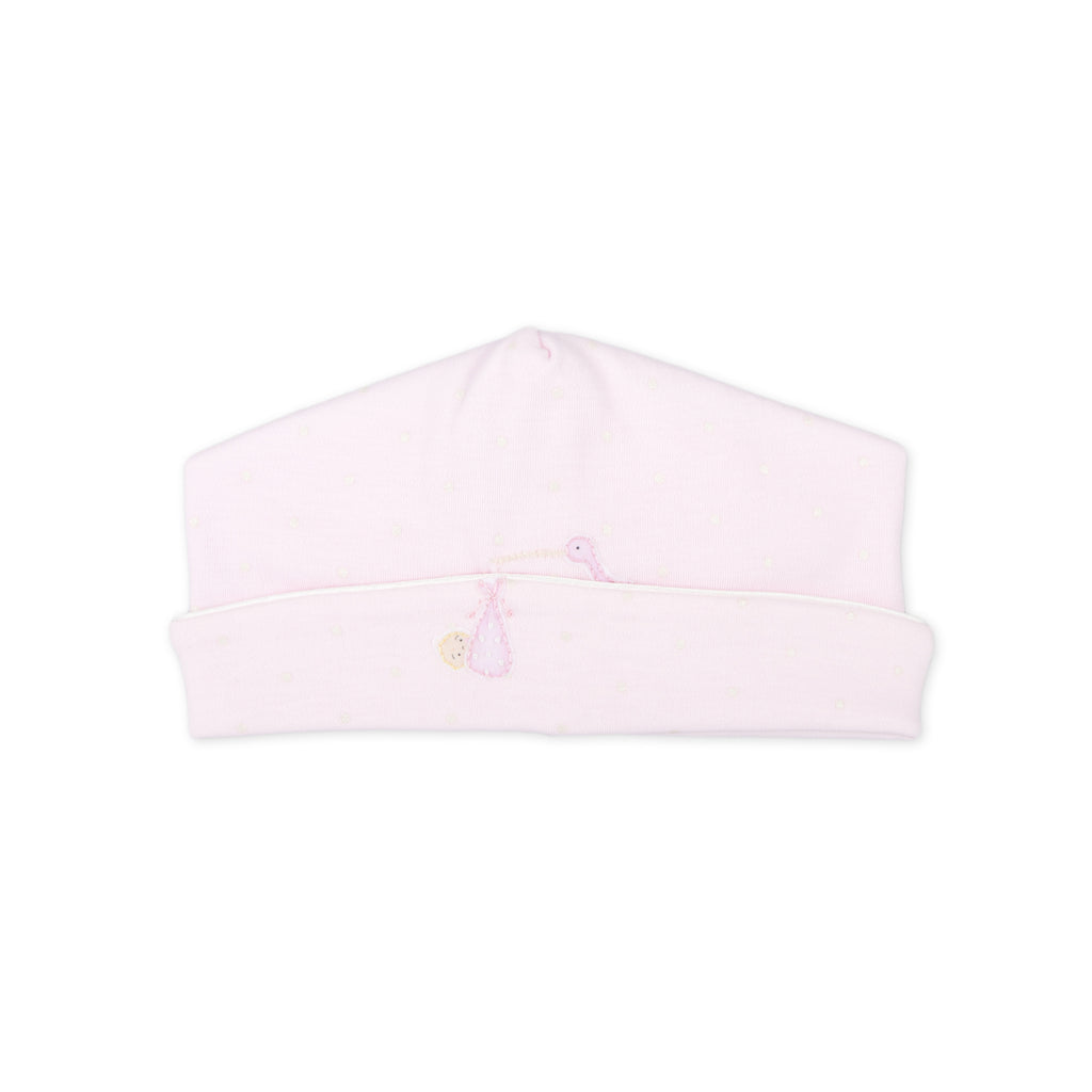 Essentials Pink Worth the Wait Embroidered Hat