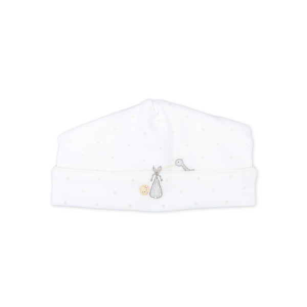 Essentials White Worth the Wait Embroidered Hat