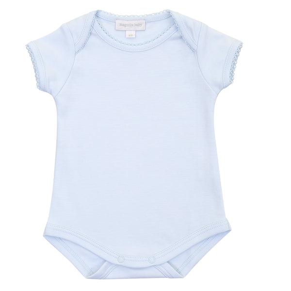 Essentials Solid Blue S/S Bodysuit