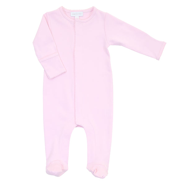 Essentials Solid Pink Footie