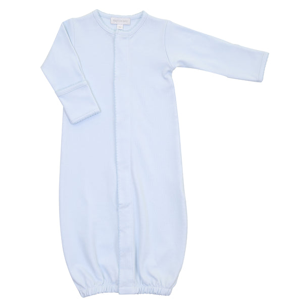 Essentials Solid Blue Converter Gown
