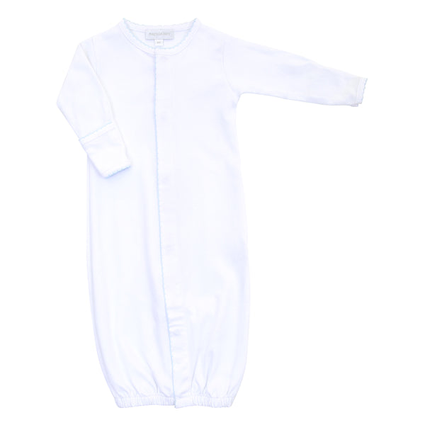 Essentials White w/Blue Converter Gown