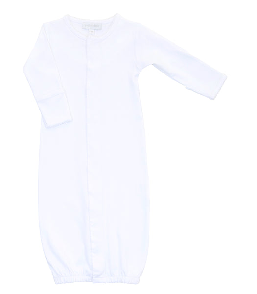 Essentials White Converter Gown