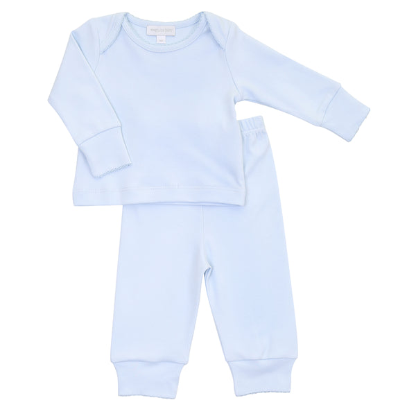 Essentials Solid Blue 2pc Loungewear
