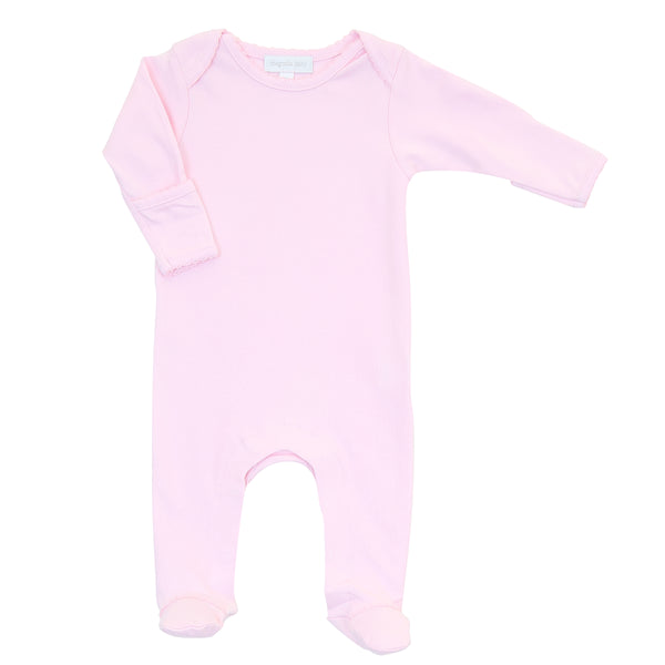 Essentials Solid Pink Lap Footie