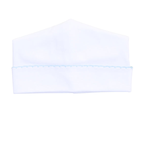 Essentials White w/Blue Hat