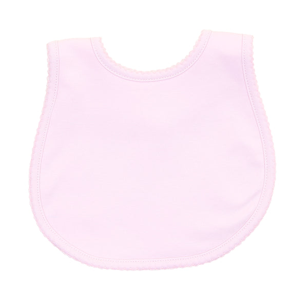 Essentials Solid Pink Bib