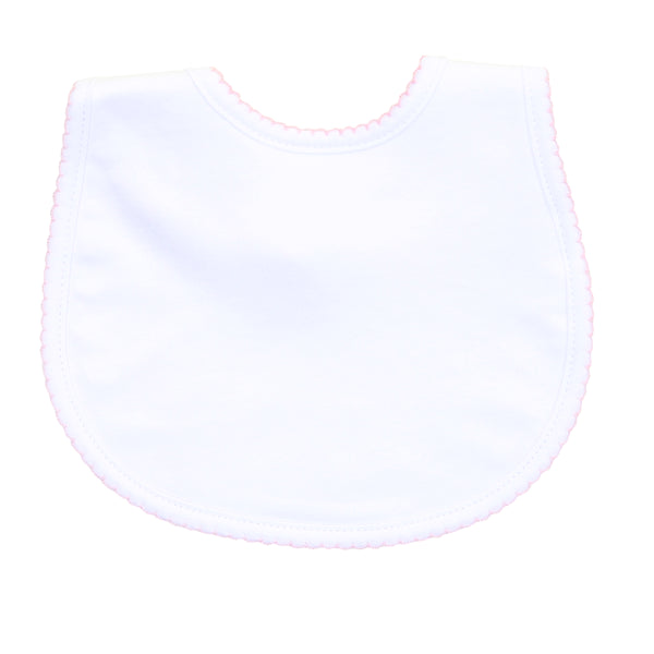 Essentials White w/Pink Bib