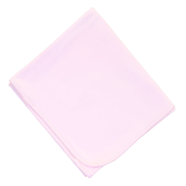 Essentials Solid Pink Blanket