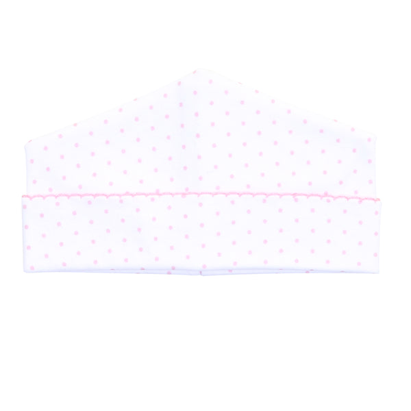 Essentials Pink Mini Dot Hat