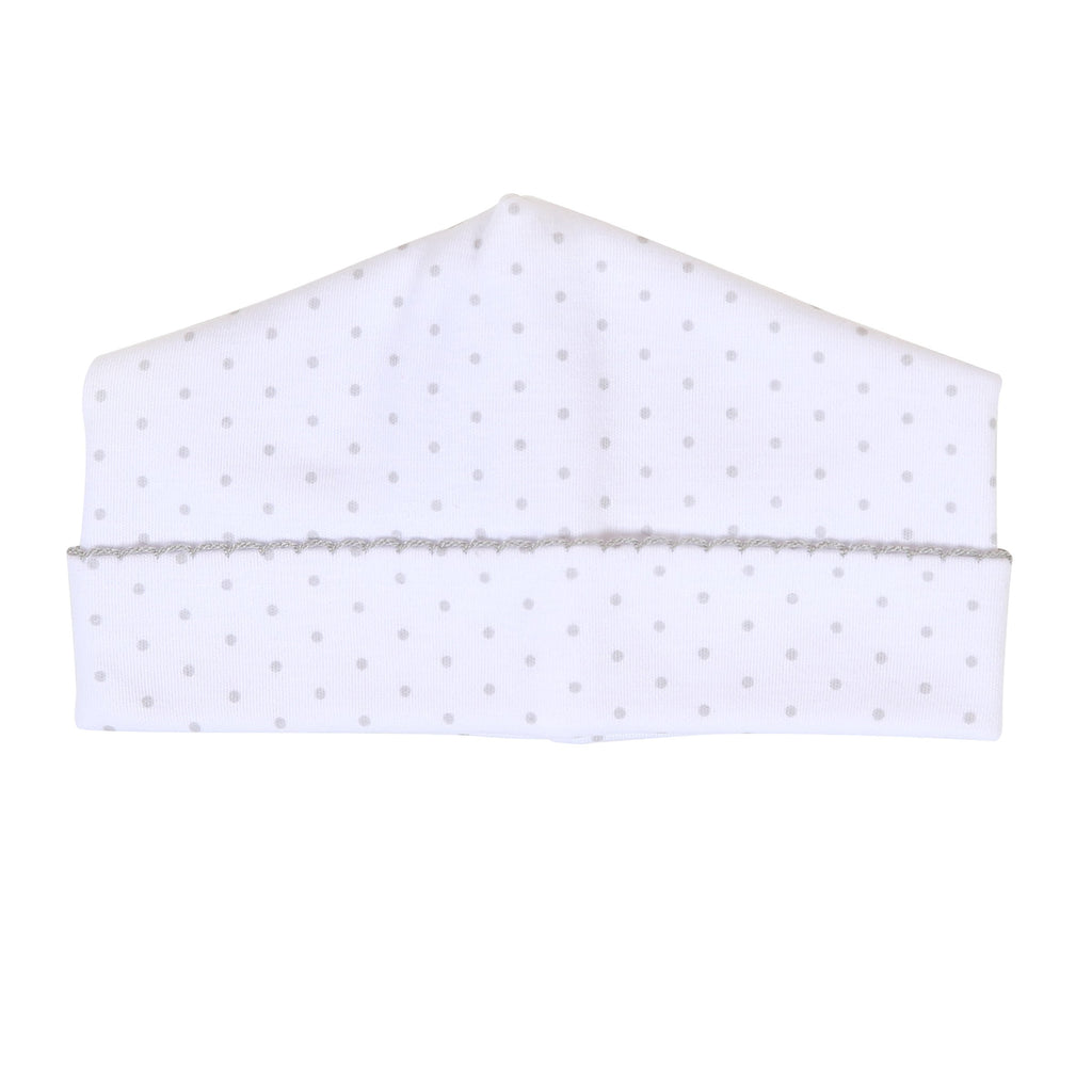 Mini Dot Essentials Silver Hat