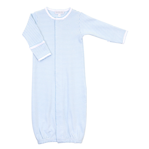 Essentials Blue Stripes Converter Gown