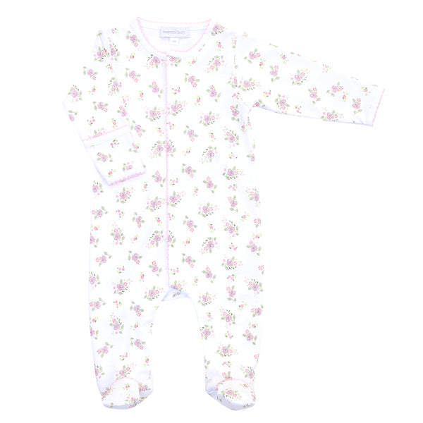 Essentials Hope's Rose Pink Printed Footie