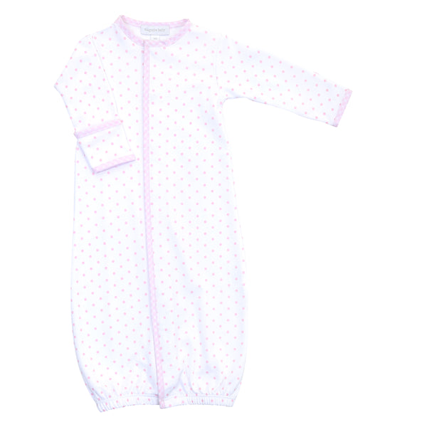 Essentials Pink Gingham Dots Converter