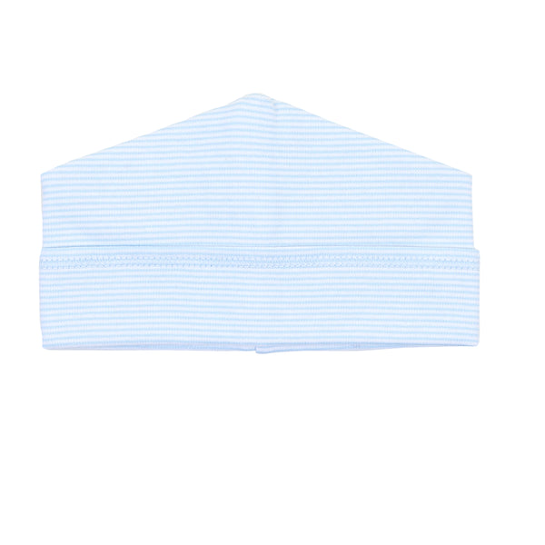 Essentials Blue Mini Stripe Hat