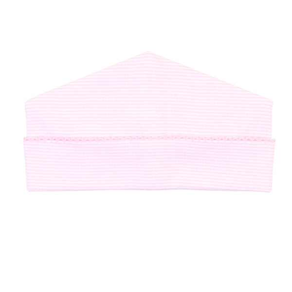 Essentials Pink Mini Stripe Hat