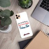 """Mistakes"" iPhone Case"