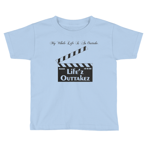 "Kids Short Sleeve ""Life'z Outtakez"" Tee"