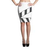 Outtakez Logo Pencil Skirt
