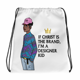 "Outtakez Apparel ""Designer Kid"" Drawstring Bag"